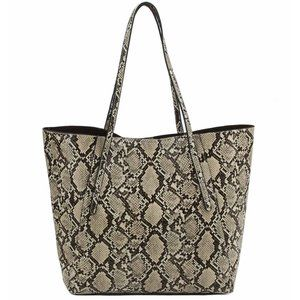 My Bag Lady Online Bags - Tan and Black Reptile 5 Piece Luggage Set